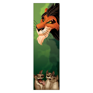 Lion King. Размер: 30 х 100 см